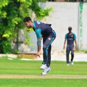 Pakistan team practice match