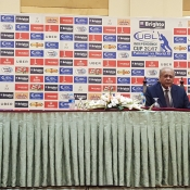 press conference in Lahore