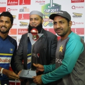 Test series trophy unveiling ceremony