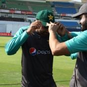 Hairs Sohail getting his Test cap