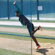 ODI players practice