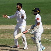 Second Test Day 4 at Dubai
