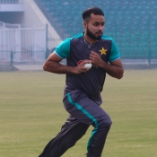 Pakistan team practice session at GSL Day Two