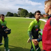 Pakistan U-19 record a five wicket win against New Zealand U-19 in the One-Day match