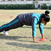 Fitness Testing of Women Contracted Players for 2017