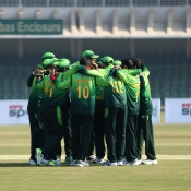 Pakistan vs. Bangladesh at Gaddafi Stadium Lahore