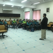 Special motivational lecture session at NCA Lahore