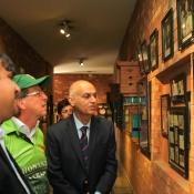 German ambassador in Pakistan visit to the NCA, Lahore