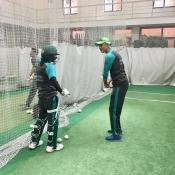 Pakistan women team training session at NCA