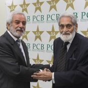 Special meeting of Board of Giverners and election of Chairman PCB, Sep 4, 2018