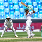 1st Test at Dubai (Day Two)