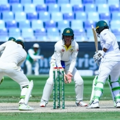1st Test at Dubai (Day Four)