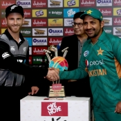 Trophy Unveiling Pakistan vs New Zealand T20I series