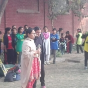U17 Girls Zonal Academy Trials at Lahore