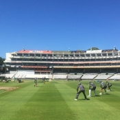 Pakistan Team practice at Newlands, Cape Town