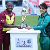 ICC Womens Championship ODIs Trophy unveiling ceremony at Dubai.