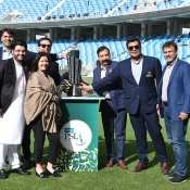 Trophy Unveiling Pictures
