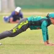 Pakistan Women team training camp at HPC Karachi Day One
