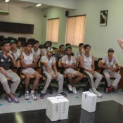 Lecture on anti-doping at the NCA Emerging Players High Performance Camp (U16 2018-2019 batch).