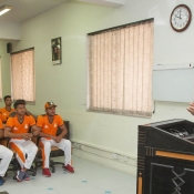 Seventeen teenage cricketers report for Emerging Players High Performance Camp
