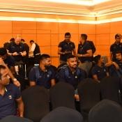 Arrival of Sri Lanka team at Karachi for ODI & T20I series against Pakistan