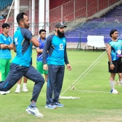 Pakistan Team Training session at NSK