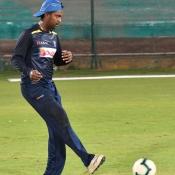 Sri lanka team training session at the NSK