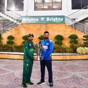 Pakistan vs Sri Lanka ODI series trophy unveiling ceremony
