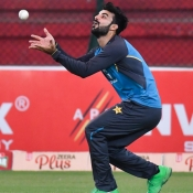 Pakistan team training session at the NSK