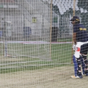 Sri Lanka team training session at the Gaddafi Stadium Lahore