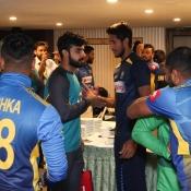 Sri Lanka team dressing room activities