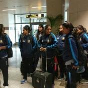 Bangladesh Women team arrive in Lahore