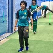 Pakistan Women Emerging team practice underway in Colombo