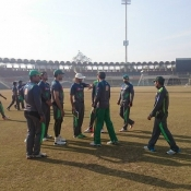 Training Camp for New Zealand Series