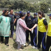 Day 1 of the 11th Mohtarma Fatima Jinnah National Women CricketChampionship