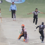 Umar Akmal is bowled by Bilal Asif