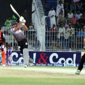 Nauman Anwar plays a shot