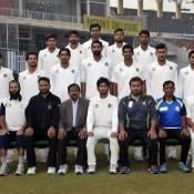 Karachi Region Whites team Group Photo