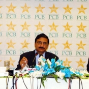Chairman PCB Ch Zaka Ashraf addressed a press conference today at Marriot Hotel Islamabad
