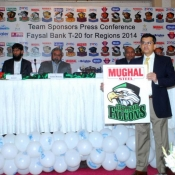 Mughal Steel Abbottabad Falcons Faysal Bank T20 Cup 2014  Team Sponsor