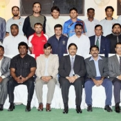 ACC Level II Coaching course concludes at NCA Chairman gives warm send-off to participants in a dinner hosted by him