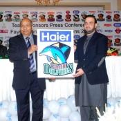 Haier Karachi Dolphins Faysal Bank T20 Cup 2014  Team Sponsor