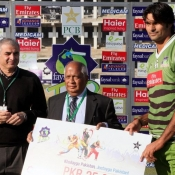 Mohammad Irfan Man of the match against Quetta Bears