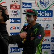 Pakistan v Zimbabwe 1st T20 International at Harare
