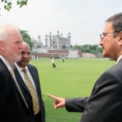 H.E. Peter Heyward Australian High Commissioner visited PCB and NCA today