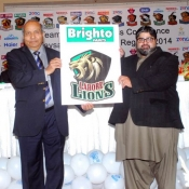 Brighto Paints Lahore Lions Faysal Bank T20 Cup 2014  Team Sponsor