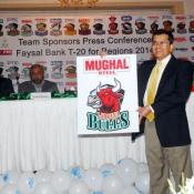 Mughal Steel Larkana Bulls Faysal Bank T20 Cup 2014  Team Sponsor
