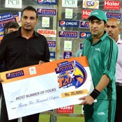 HBL v PQA 2nd Semi Final in Pepsi Presents Advance Telecom Ramadan T20 Cup 2013