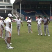10th Day Photos of PCB-UFONE Fast Bowler camp at National Stadium Karachi