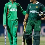 Pakistan vs Bangladesh match in World T20 2012 at Pallekele